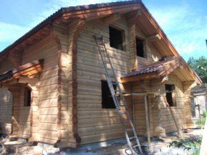 Строительство лафетных домов под ключ