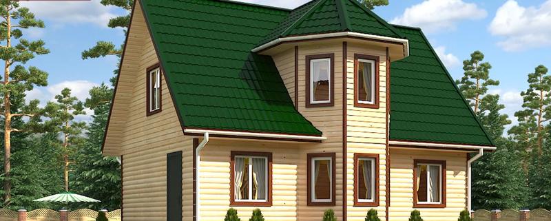 Каркасный дом 6x9 под ключ