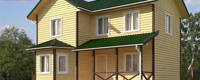 Каркасный дом 7,5x9,5 под ключ