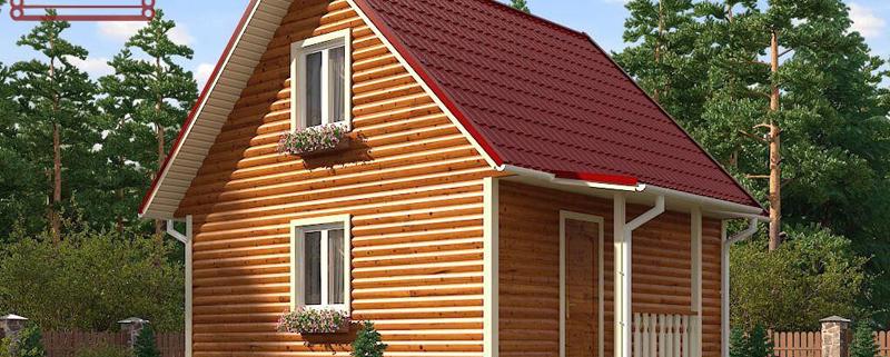 Газобетонный дом 6x6 под ключ