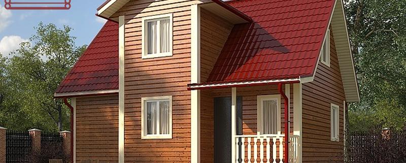 Газобетонный дом 7x9 под ключ