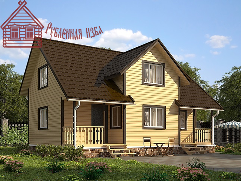 Газобетонный дом 10x9.5 под ключ
